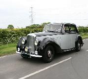 Bentley MK VI Hire in UK