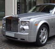 Rolls Royce Phantom - Silver Hire in UK